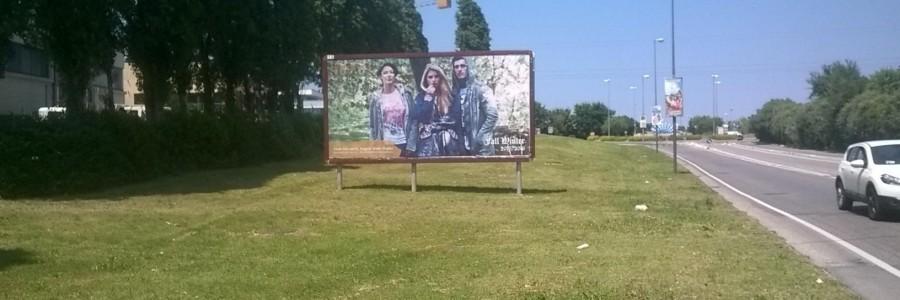 A Rimini e provincia i poster  6×3 per più di 3 milioni di turisti