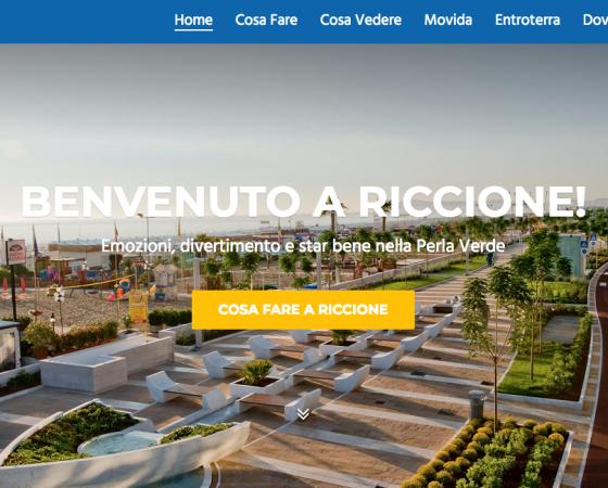 Wifi Free in spiaggia a Riccione: la tua pubblicità sulla sabbia !